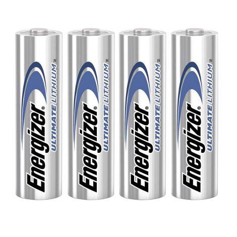 Energizer Lithium Batteri AA 1.5 V Ultimate 4 stk