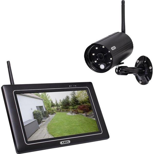 "ABUS OneLook trådløs overvågning m. 7"" touch skærm, 1080p"